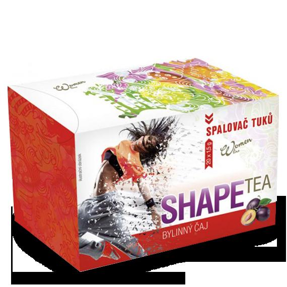 Shape Tea - Spalovač tuků - švestka 30g