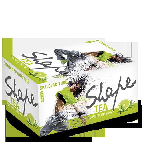 Shape Tea - Spalovač tuků - limetka 30g
