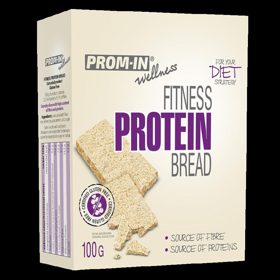 Proteinový chléb fitness 100 g