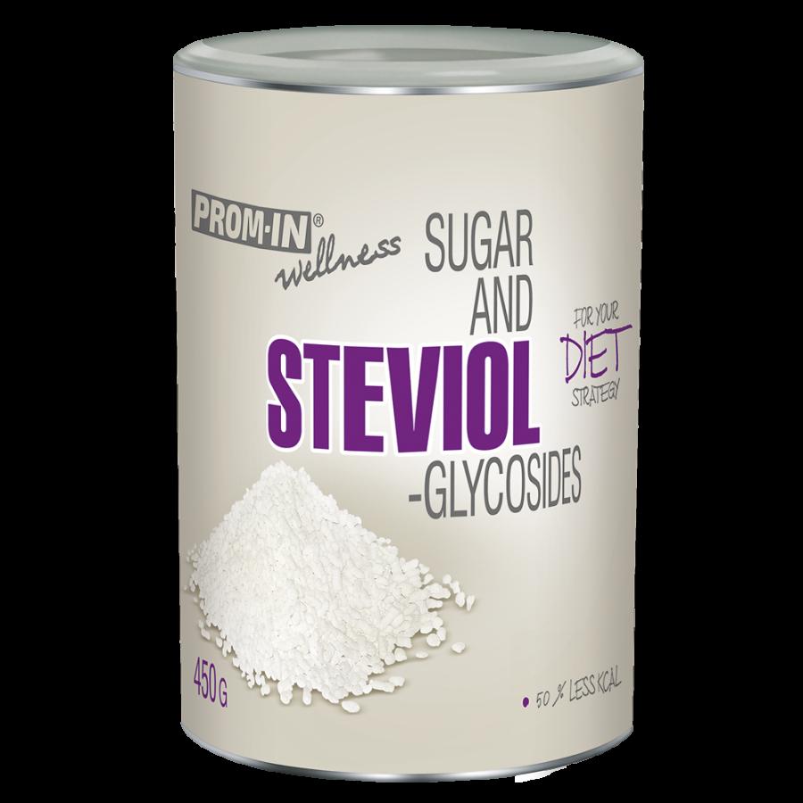 Cukr a steviol-glycosides 450g