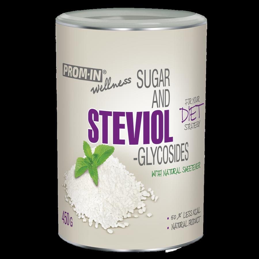 Cukr a steviol-glykosidy 450g