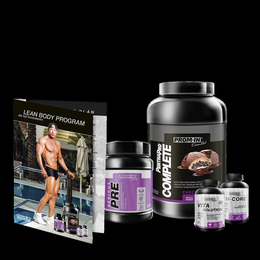 Balíček produktů LEAN BODY PROGRAM FOR MEN