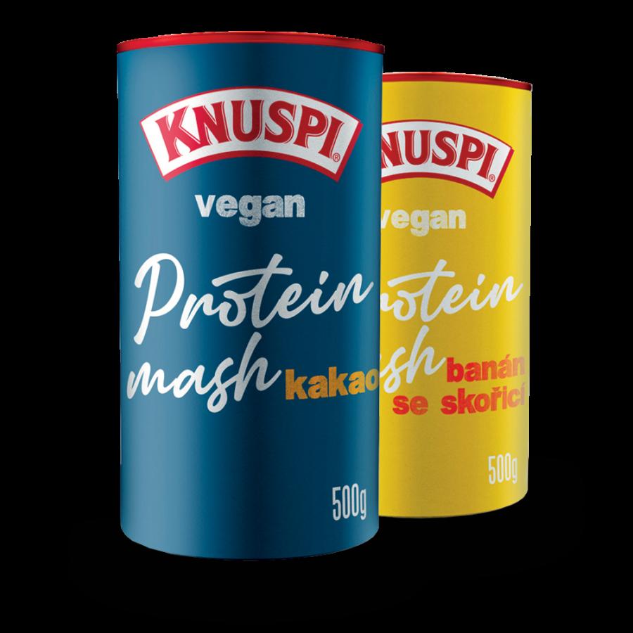 Vegan proteinová kaše