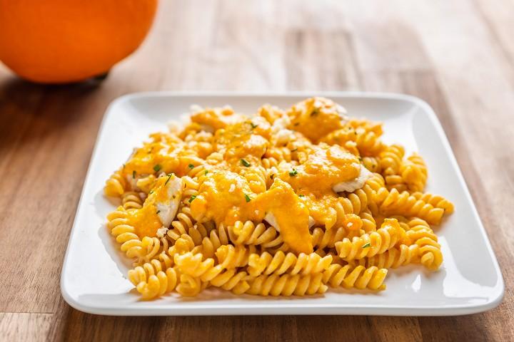 Hokkaido pasta with chicken