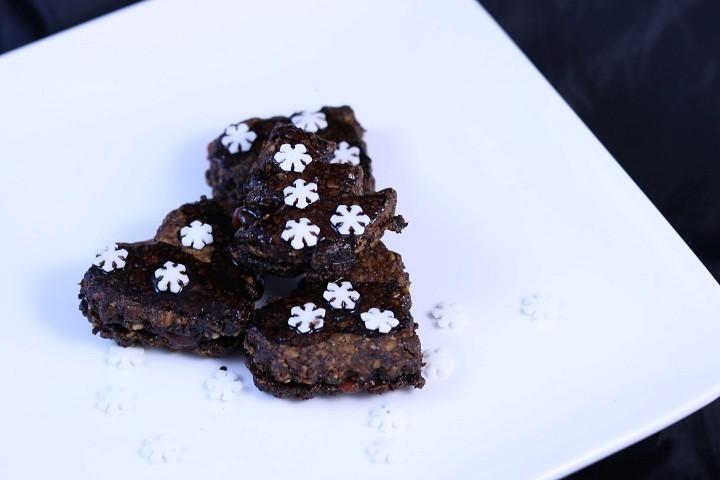 Vánoční FITroví / ořechové sušenky