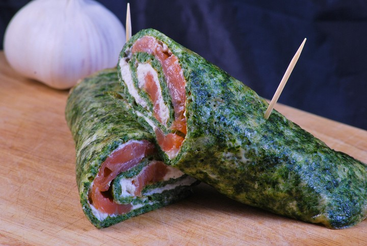 FIT spinach roulade