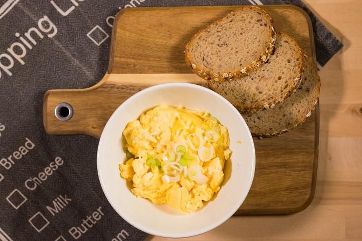 Míchaná vejce z mikrovlnky za 5 minut